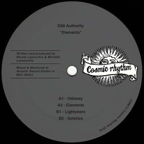 D38 Authority - Elements - CRM10 - COSMIC RHYTHM
