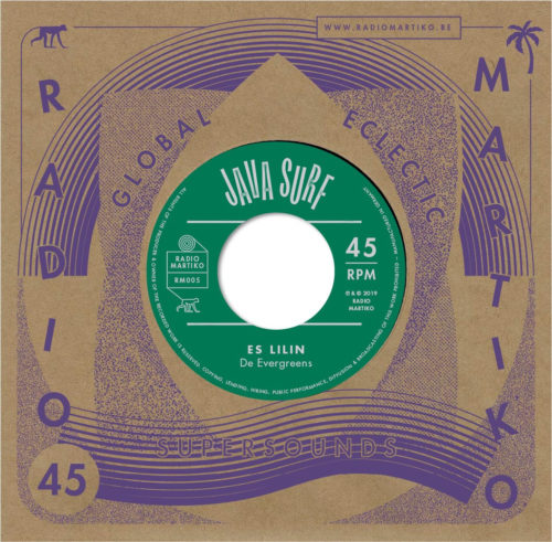 De Evergreens/Les Jaguars De Casablanca - Es Lilin / Gonzales - RM005 - RADIO MARTIKO