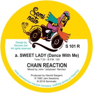 Chain Reaction - Sweet Lady/Changes - S101R - SEMINATO