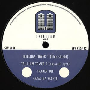 SFV Acid - Trillium Towers Vol.1 - SFVREC012 - SFV RECORDS