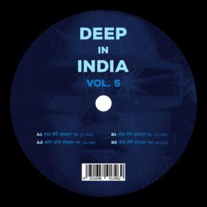 Todh Teri/Todd Terje - Deep In India Vol.5 - TODH005 - TODH TERI