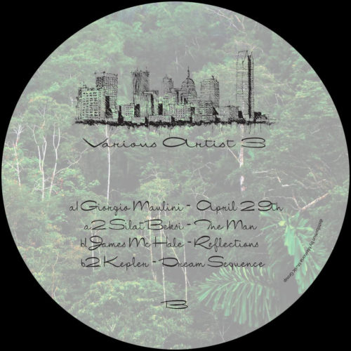 Giorgio Maulini/Silat Beksi/James McHale/Kepler - Various Artist 3 - UTVA003 - UNDERGROUND TOWN