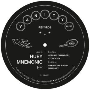 Huey Mnemonic - Huey Mnemonic EP - VPR15 - VANITY PRESS