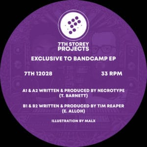 Necrotype/Tim Reaper - Exclusive to Bandcamp EP - 7TH12028 - 7th STORY PROJECTS