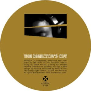 Jeff Mills - The Director's Cut - Chapter 4 - AX082DC - AXIS