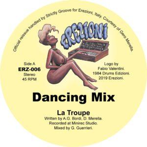 La Troupe - Dancing - ERZ006 - EREZIONI
