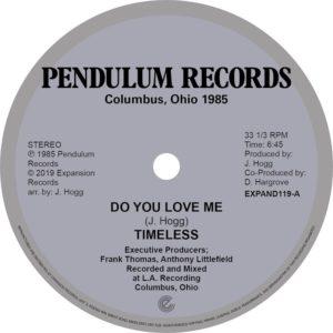 Timeless Legend - Do You Love Me / You're The One - EXPAND119 - EXPANSION