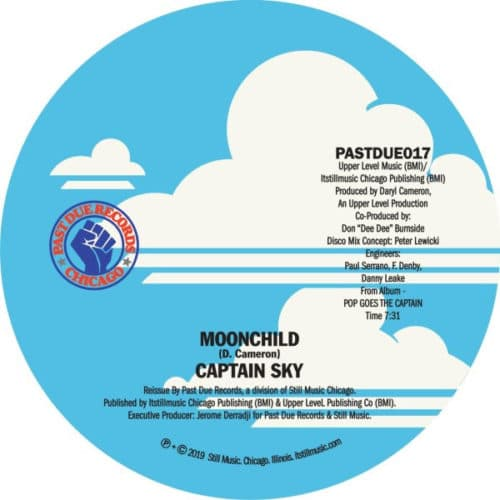 Captain Sky - Moonchild - PASTDUE017 - PAST DUE