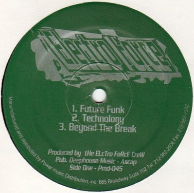 Electro Force - Electro Force - PMD-045 - POWER MUSIC