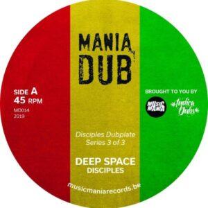 The Disciples - Deep Space / Deep Dub - MD014 - MANIA DUB