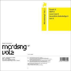 Various - Microdosing Vol. 2 - MDSG002 - MICRODOSING