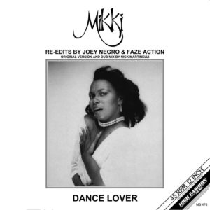 Mikki - Dance Lover - MS476 - HIGH FASHION MUSIC