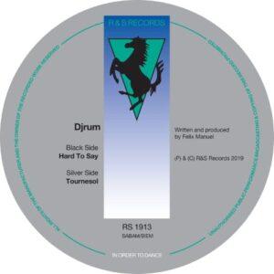 Djrum - Hard To Say - RS1913 - R&S