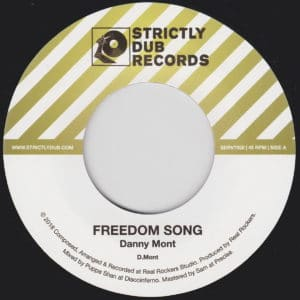 Danny Mont/Puppa Shan - Freedom Song - SDRV7008 - STRICTLY DUB RECORDS