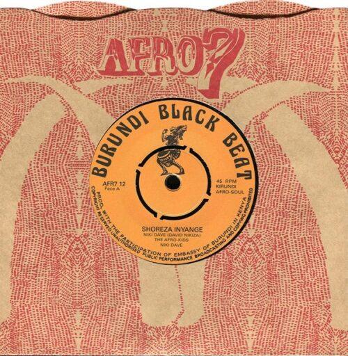 Niki Dave/The Afro-kids - Shoreza Inyange/Amayaya - AFR712 - AFRO7 RECORDS