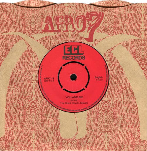 The Black Devil's Band - You And Me/I Found A Note - AFR713 - AFRO7 RECORDS