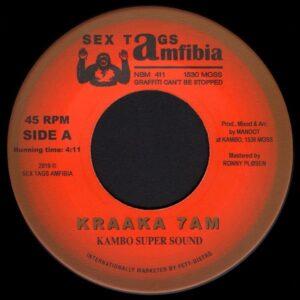 Kambo Super Sound/Don Papa/DJ Sotofett - Kraaka 7AM / Moss Dub Fønk - AMFIBIA30 - SEX TAGS AMFIBIA