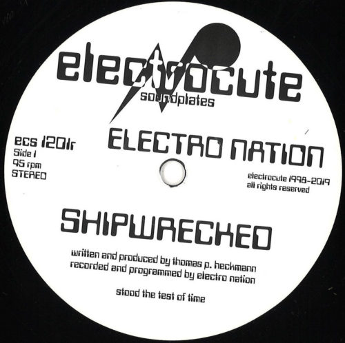 Electro Nation - Shipwrecked - ECS1201R - ELECTROCUTE