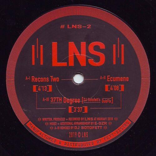 LNS/DJ Sotofett - Recons Two - LNS-2 - LNS