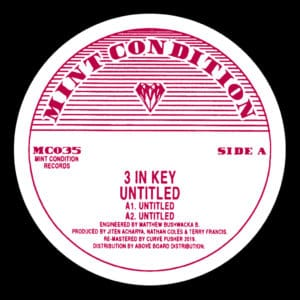 3 In Key - Unititled - MC035 - MINT CONDITION
