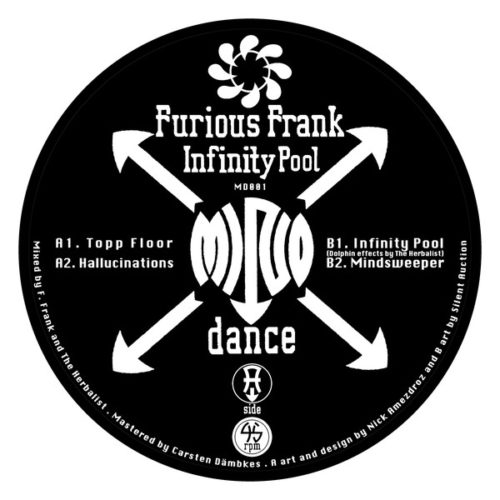Furious Frank - Infinity Pool - MD001 - MIND DANCE