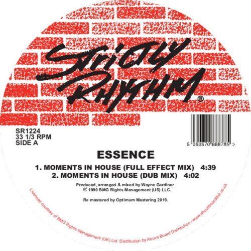 Essence - Moments In House - SR1224 - STRICTLY RHYTHM