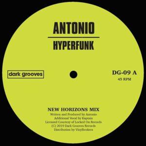 Antonio - Hyperfunk - DG-09 - DARK GROOVES