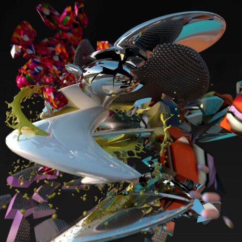Lee Gamble - Exhaust - HDB127 - HYPERDUB