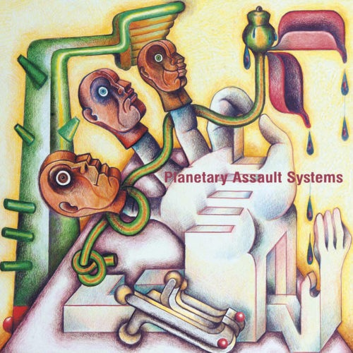 Planetary Assault Systems/Luke Slater - Plantae - OSTGUTTON123 - OSTGUT TON
