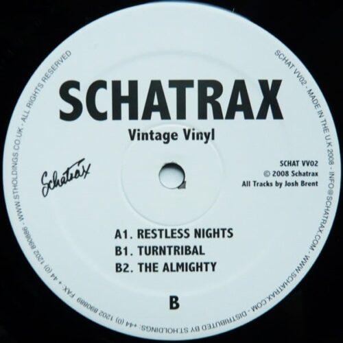 Josh Brent - Vintage Vinyl 2 - SCHATVV02 - SCHATRAX