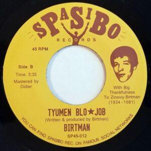 Birtman - Deer Instrumental/Tyumen Blo*job - SP45-012 - SPASIBO RECORDS