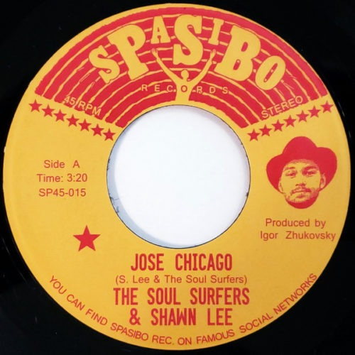 The Soul Surfers/Shawn Lee - Jose Chicago/Four Track Mind - SP45-015 - SPASIBO RECORDS