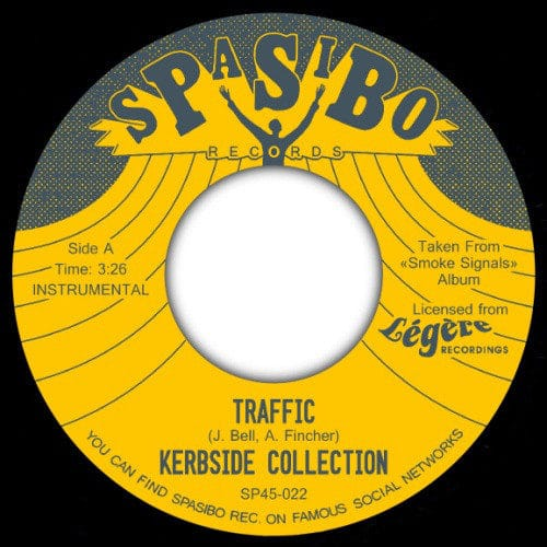 Kerbside Collection - Traffic/Cajun Jollof - SP45-022 - SPASIBO RECORDS