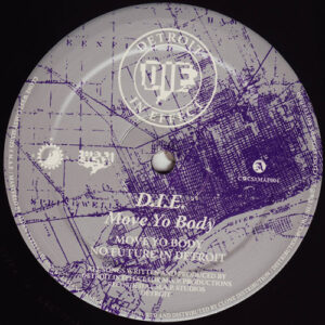 D.I.E. - Move Yo Body - CWCSxMAP004 - CLONE WEST COAST SERIES