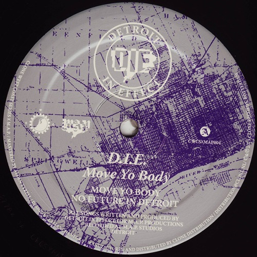 D.I.E. - Move Yo Body - CWCSxMAP004 - CLONE WEST COAST SERIES