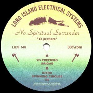 No Spiritual Surrender/JC Cabrera/Kastil - Yo Prefiero - LIES146 - L.I.E.S