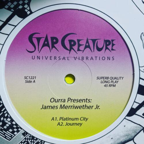 Ourra/James Merriwether Jr - Platinum City - SC1221 - STAR CREATURE