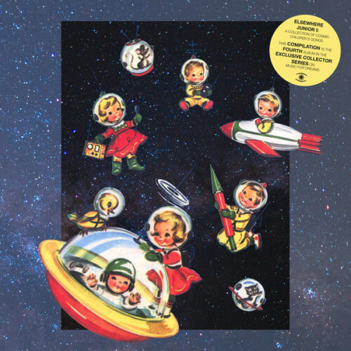 Various/DJ Sofa - Elsewhere Junior I - A Collection of Cosmic Children's Songs - ZZZV19008 - MUSIC FOR DREAMS