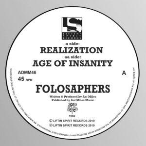 Folosaphers - Realization / Age of Insanity - ADMM46 - LIFTIN SPIRIT RECORDS