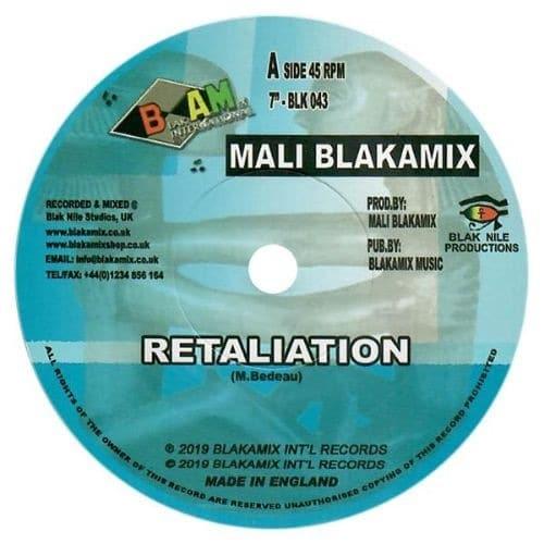 Mali Blakamix - Retaliation - BLK043 - BLAKAMIX