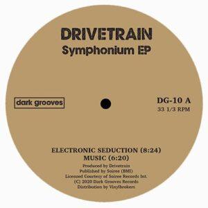 Drivetrain - Symhonium - DG-010 - DARK GROOVE RECORDS