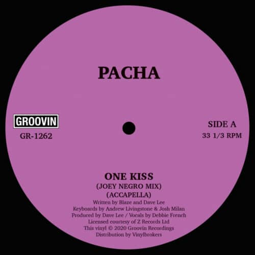 Pacha - One Kiss - GR-1262 - GROOVIN RECORDS