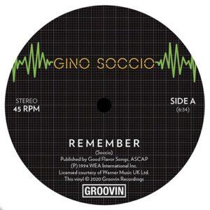 Gino Soccio - Remember/Dream On - GRWB-1207 - GROOVIN RECORDS