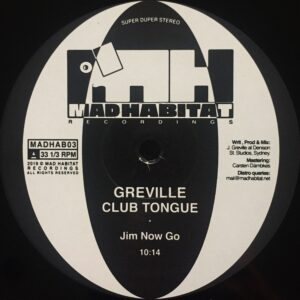 Greville - Club Tongue - MADHAB03 - MAD HABITAT