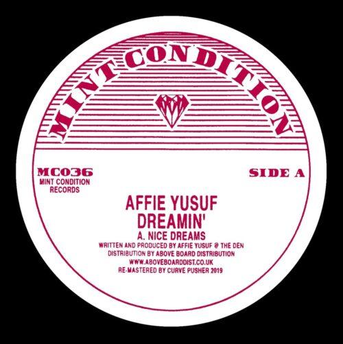 Affie Yusuf - Dreamin' - MC036 - MINT CONDITION