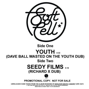 Soft Cell - The Unreleased Dubs - PRO-A-1099 - SIRE