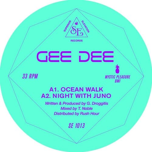 Gee Dee - Ocean Walk EP - SE1013 - SUPERIOR ELEVATION