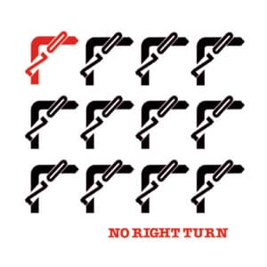 No Right Turn - No Right Turn - EM1115LP - EM RECORDS