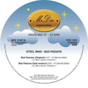Steel Mind - Bad Passion - MD31814 - MR DISC