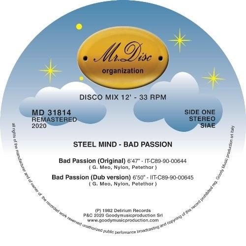 Steel Mind - Bad Passion - MD31814 - MR DISC